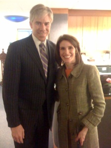 David Gregory and Lauren Petty